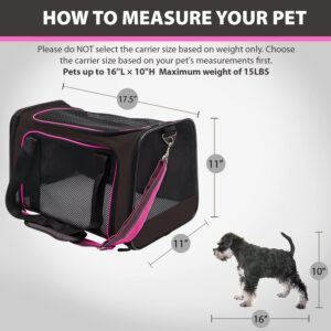 Soft-Sided Pet Travel Carrier