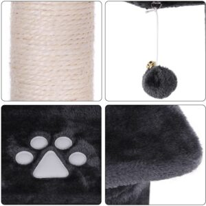 Nova Microdermabrasion 53 Inches Multi-Level Cat Tree Stand House Furniture Kittens